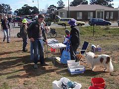 Volunteers signing in for NTD 2014