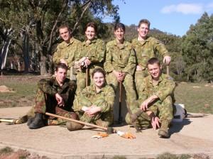 1 ADFA cadets dug more than 400 planting holes DSCN4408