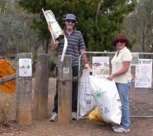 Clean Up Hil and Vic of Hackett DSCN2394
