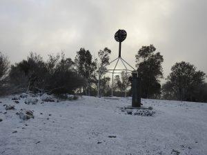 16 07 G Mcveigh Majura summit with snow 1